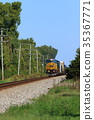 freight train, goods train, locomotive 35367771