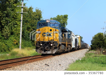 freight train, goods train, locomotive 35367780