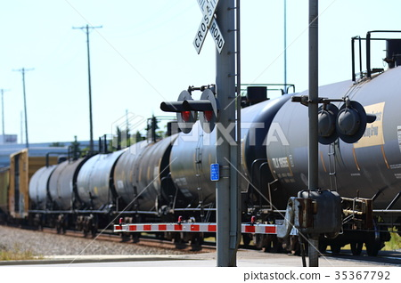 freight train, goods train, locomotive 35367792