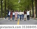 學生 大學生 戶外 35368495