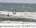 帆板运动 海洋 海 35369724