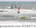 帆板运动 海洋 海 35369774