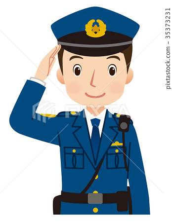 police officer  cops  policeman stock illustration free smiley clip art black and white free smile clip art