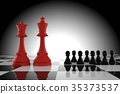 Leadership of the red king and queen chess 35373537