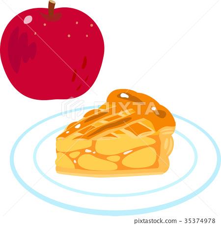 Apple pie 1 cut 35374978