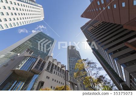 Nishi Umeda Skyscrapers 35375073