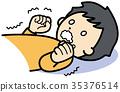 attack, ailment, ill 35376514