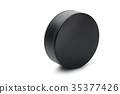 Ice hockey puck 35377426
