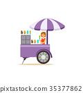 ice, cream, flat 35377862