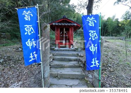 Hagiwara Shrine within the grounds of Iwabuchi Shrine 35378491