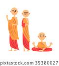 monk religion buddhist 35380027