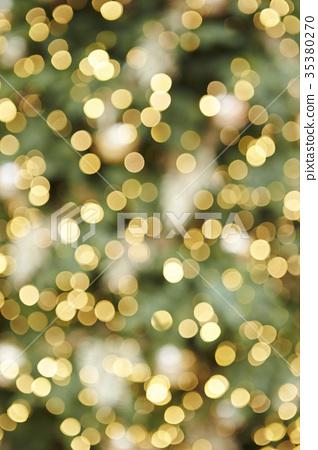 Christmas tree illumination 35380270