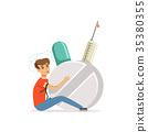 drug, syringe, pill 35380355
