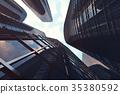 sunny angle skyscraper 35380592