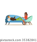 therapy psychologist vector 35382841