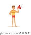 lifeguard shout megaphone 35382851