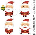 聖誕老人 聖誕老公公 禮物 35383523