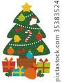 聖誕樹 聖誕時節 聖誕節 35383524