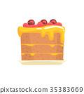 cake, sweet, vector 35383669