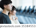 person, gym, gymnasium 35384553