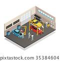 服務 汽車 車 35384604