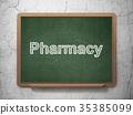 concept, medicine, pharmacy 35385099