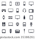 icon, vector, technology 35386261