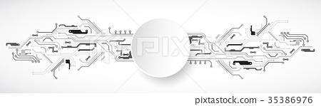 Hi-tech digital technology and engineering 35386976