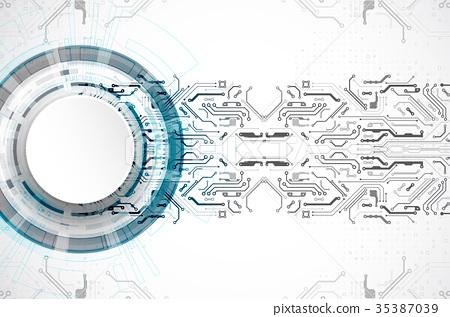 Hi-tech digital technology and engineering 35387039