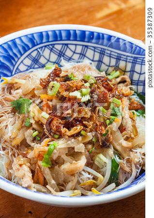 台灣美食滷味小菜燙青菜米粉湯板條 35387309