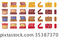 suitcase, travel, vintage 35387370