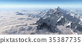 mountain, summit, peak 35387735