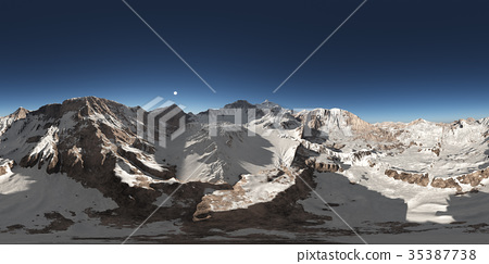 Spherical 360 degrees seamless panorama 35387738