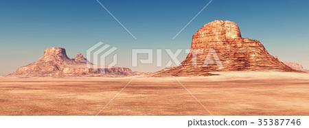 Desert landscape 35387746