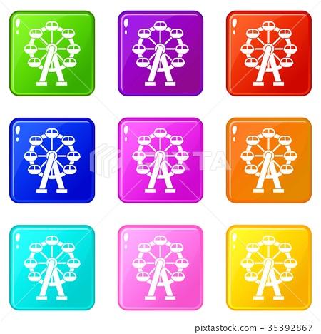 Ferris wheel set 9 35392867