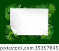 tropical vector leaves 35397645