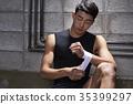 拳擊 拳擊手 繃帶 35399297