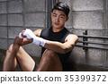 拳擊 拳擊手 年輕人 35399372