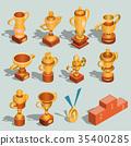 set, trophy, cup 35400285