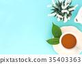 茉莉花茶 杯子 杯 35403363
