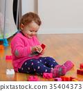 building, block, rubber 35404373