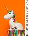 Unicorn cake topper 35404573