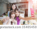 female, friends, group 35405450
