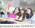female, friends, group 35405457