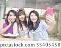 female, friends, group 35405458