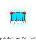 Niagara Falls icon, comics style 35406549
