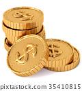 dollar sign heap 35410815