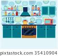廚房 室內 室內空間 35410904