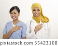 doctor and nurse 35423108