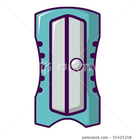 Sharpener icon, cartoon style 35425108